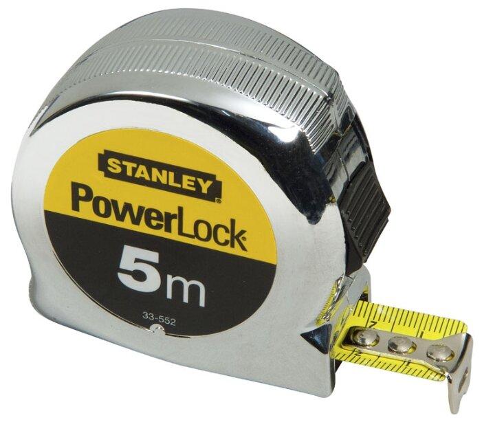 Рулетка STANLEY HAND TOOLS STANLEY MICROPOWERLOCK 5