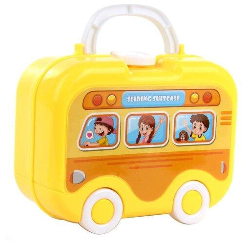 Набор Jia Huan Long Toys 95501 желтый/голубой/красный/зеленый набор jin jia tai 870 розовый голубой белый