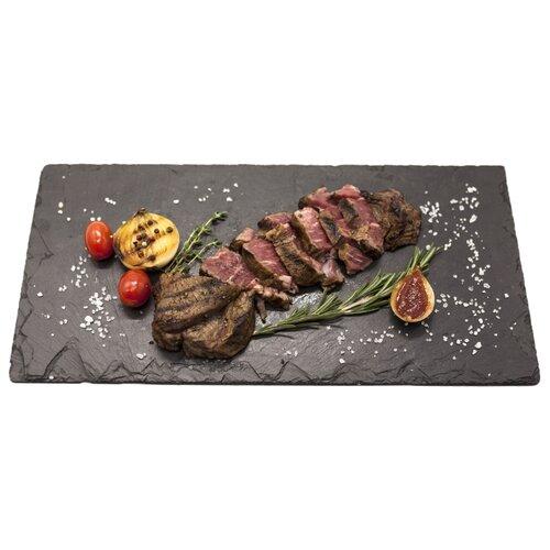 GourmetSlate Сланцевое Блюдо Native 40см х 20см черный