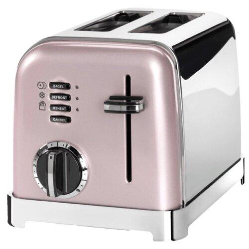 Тостер Cuisinart CPT-160, розовый