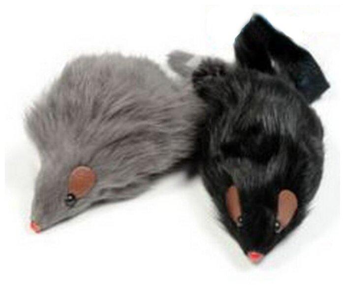 Мышь для кошек Triol серая 2 шт (M004NG/Ч-08000/22161031)
