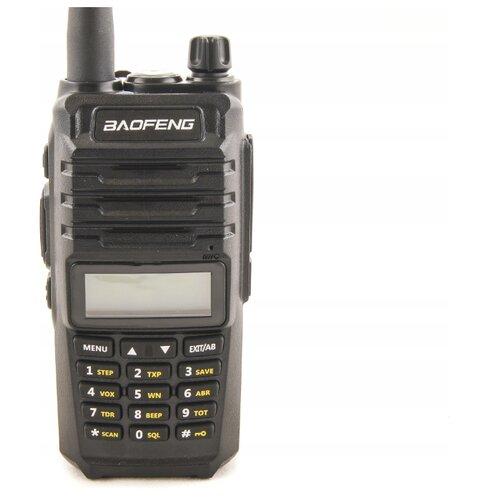 Рация пыле-влаго защищенная Baofeng UV-E70 IP57, VHF/UHF, 5 Вт,2800 мАч Черный рация baofeng uv e70 черный