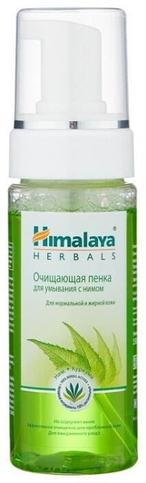 Himalaya Herbals очищающая пенка для умывания