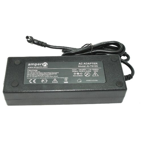 Блок питания AmperIn AI-TS120 для ноутбуков Toshiba