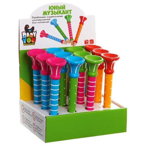 Купить BONDIBON дудочка Юный Музыкант ВВ1098 (12 шт.) разноцветный, Детские музыкальные инструменты