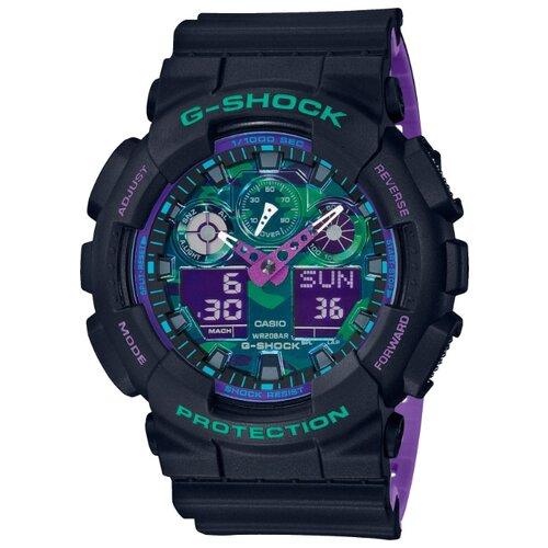 Наручные часы CASIO GA-100BL-1A casio ga 110hr 1a