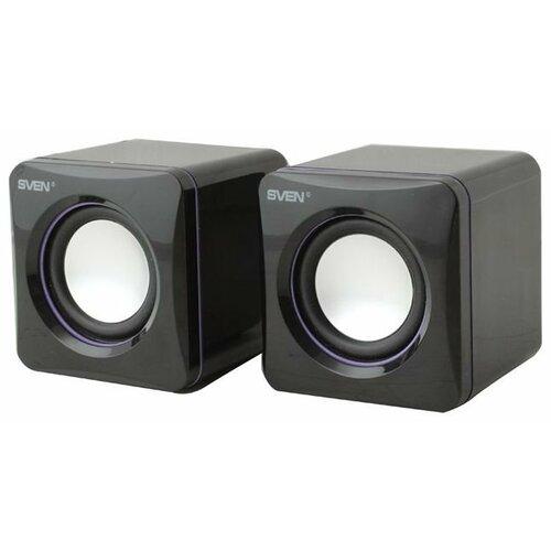 Компьютерная акустика SVEN 315 черный портативная акустика sven ps 68 черный