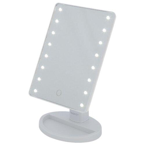 Купить Зеркало косметическое настольное Energy EN-704 с подсветкой белый