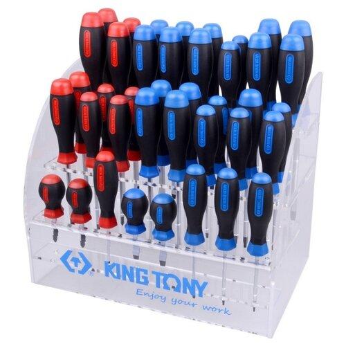 Подставка KING TONY Подставка для отверток 87104 бесцветный