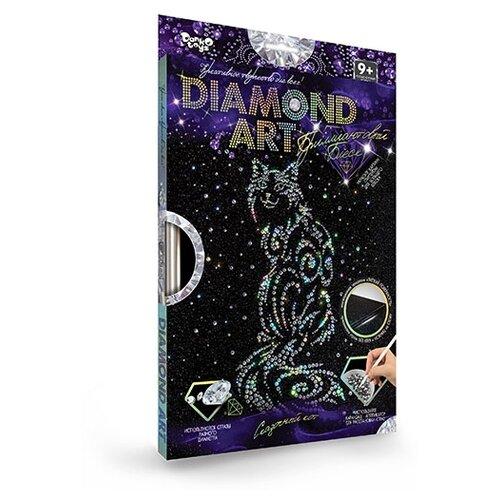 Купить Набор для создания мозаики.DIAMOND ART. Набор 8 Кошка , Danko Toys, Алмазная вышивка