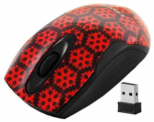 Мышь CROWN MICRO CMM-922W Black-Red USB