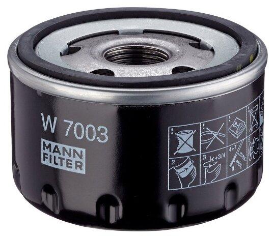 Масляный фильтр MANNFILTER W7003