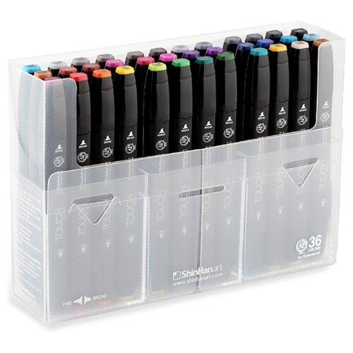 Купить Touch Twin Набор маркеров (1103600), 36 шт., Фломастеры и маркеры