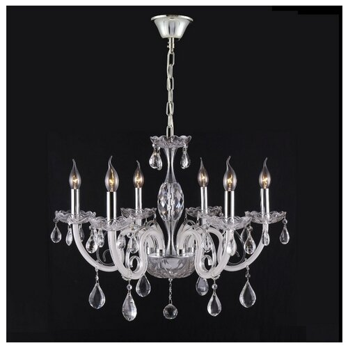 Люстра Crystal Lux GLAMOUR SP-PL6, E14, 360 Вт люстра crystal lux sevilia pl6 gold e14 240 вт