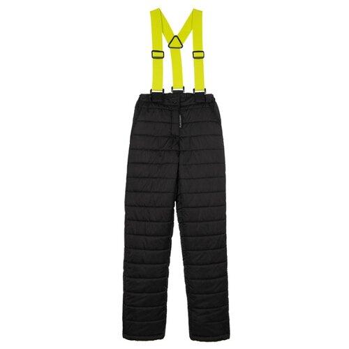 Купить Брюки playToday Neon tween girls 32021065 размер 134, черный, Полукомбинезоны и брюки