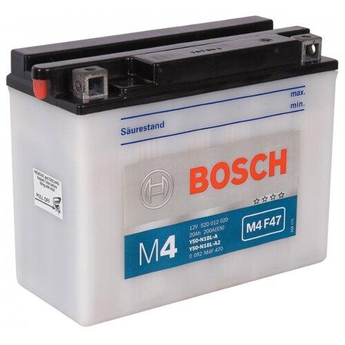 Мото аккумулятор Bosch M4 F47 (0 092 M4F 470)