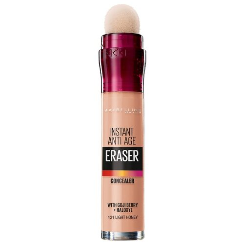 Maybelline New York Консилер The Eraser Eye, оттенок 121 Светло-медовый the new york quarterly number 46