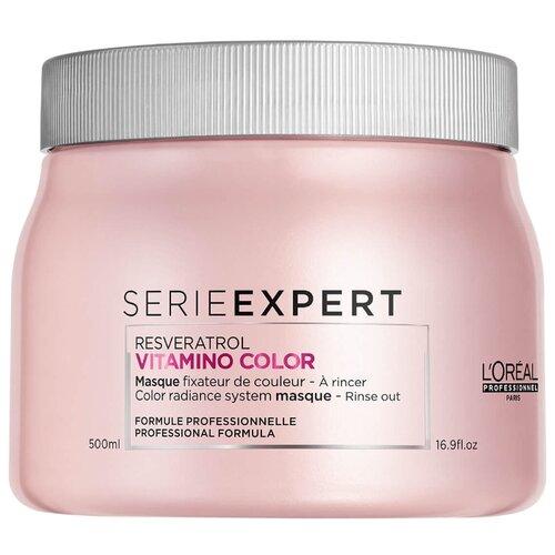 L'Oreal Professionnel Vitamino Color Resveratrol Маска для окрашенных волос, 500 мл l oreal professionnel vitamino color молочко для фиксации цвета окрашенных волос 210 мл