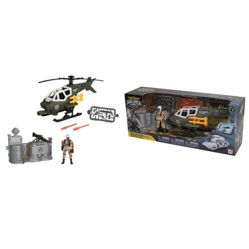 Купить Игровой набор Chap Mei Soldier Force - Стремительная атака (Вертолет) 545008-2, Игровые наборы и фигурки
