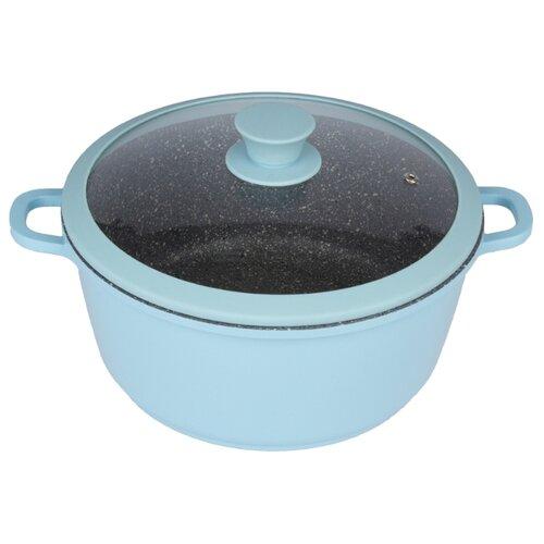 Кастрюля CAStA Color 4л, голубой кастрюля helper gurman 4л gn 7540