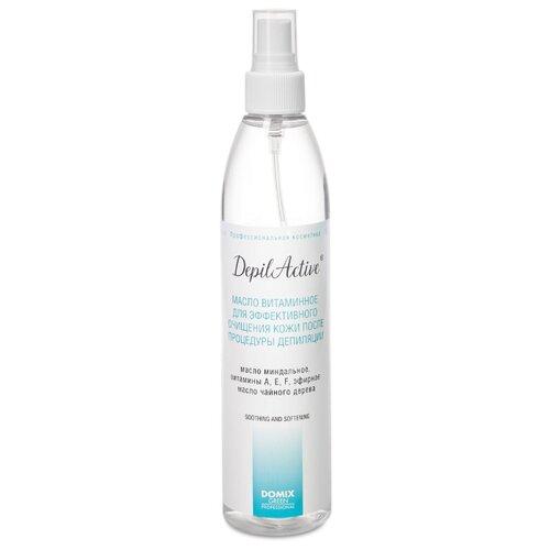 Domix DepilActive Масло витаминное для эффективного очищения кожи после процедуры депиляции 320 мл