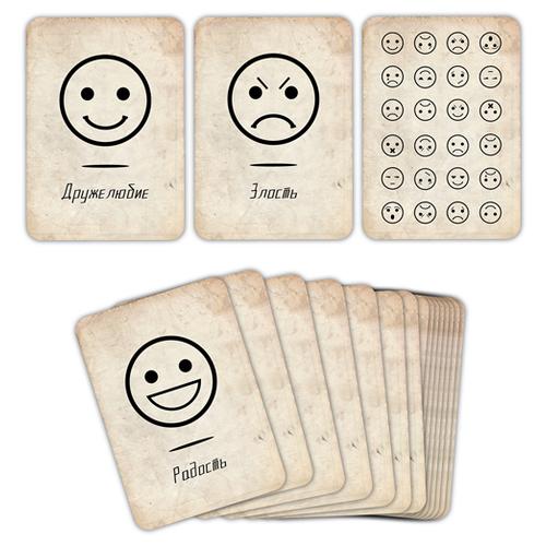 Купить Дополнение для настольной игры Pandora's Box Studio Эмоции и состояния, Настольные игры