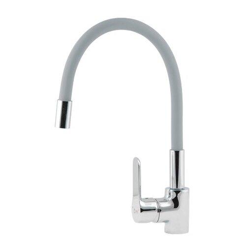 Смеситель для кухни (мойки) AV Engineering AVOLA4-A279 однорычажный светло-серый смеситель для кухни мойки florentina дельта av однорычажный песочный