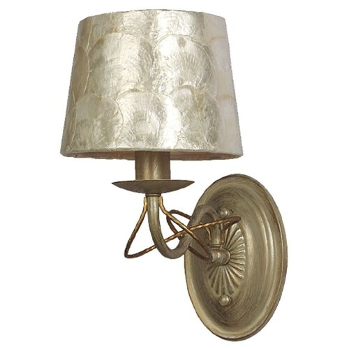 Настенный светильник Favourite Cockle 1302-1W, 40 Вт настенный светильник favourite batun 2020 1w 40 вт