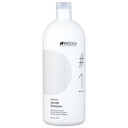 Шампунь Indola Innova Silver #1 Wash, 1500 мл крем для создания локонов 150 мл indola indola стайлинг