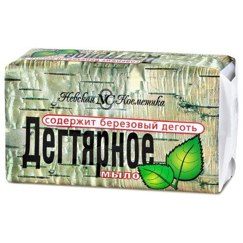 Мыло кусковое Невская Косметика Дегтярное, 140 г невская косметика туалетное мыло детское 90 гр
