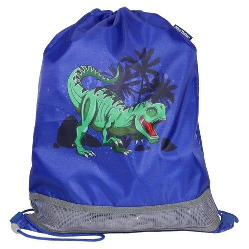 Купить MagTaller Мешок для обуви T-Rex (31816-08) синий, Мешки для обуви и формы