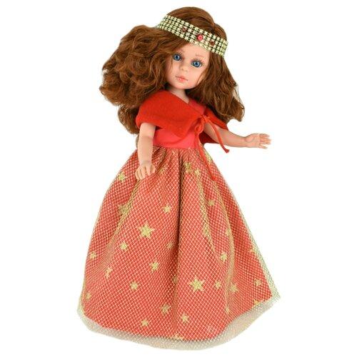 Кукла Vidal Rojas Найя кудрявая рыжеволосая в длинном красном платье, 41 см, 5530