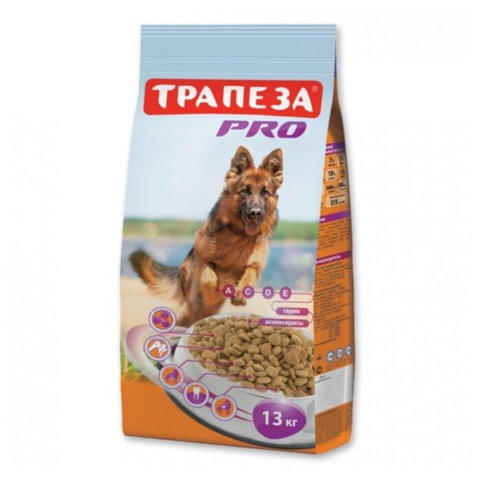 Корм для собак Трапеза для активных животных 13 кг