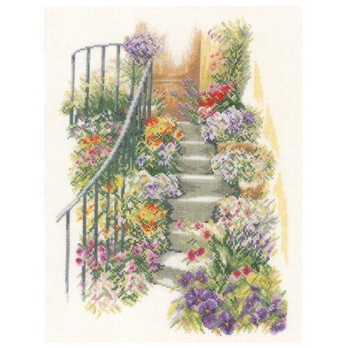 Купить Lanarte Набор для вышивания Лестница в цветах 27 х 37 см (0169680-PN), Наборы для вышивания