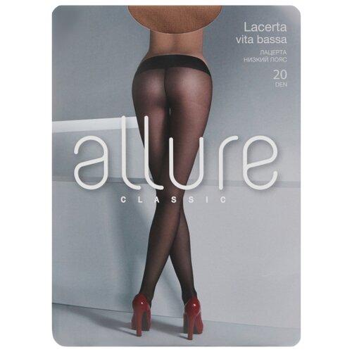 Колготки ALLURE Classic Lacerta Vita Bassa 20 den, размер 2, glase (золотистый) колготки allure classic lacerta 20 den размер 3 glase золотистый