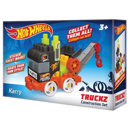 Конструктор Bauer Hot Wheels 717 Truckz Karry конструктор bauer fireman 742 164 пожарная часть
