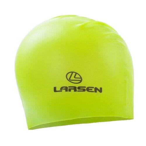 Шапочка для плавания Larsen LS77 лайм