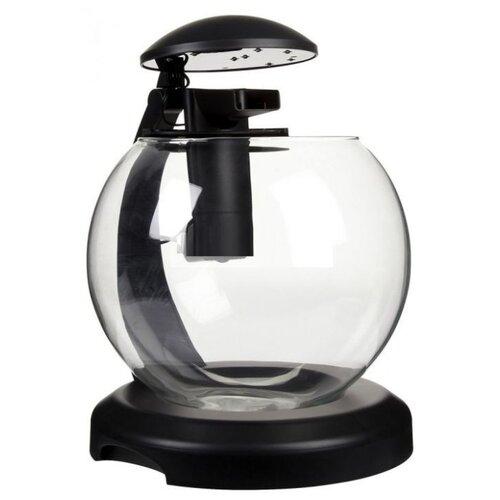 Аквариумный набор 6.8 л Tetra Cascade Globe черный аквариумный набор 6 8 л tetra cascade globe белый