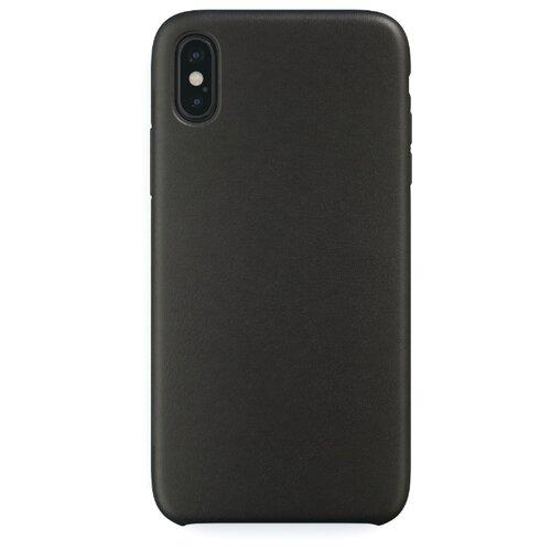 Чехол-накладка uBear Capital Leather для Apple iPhone X/Xs black фото