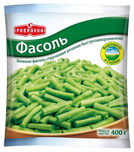 PODRAVKA Замороженная фасоль стручковая 400 г