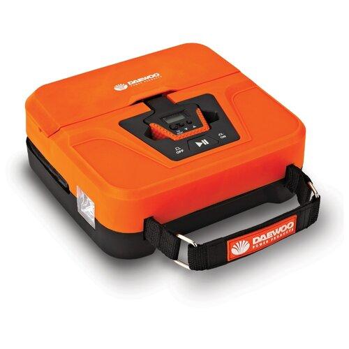 цена на Автомобильный компрессор Daewoo Power Products DW40L оранжевый
