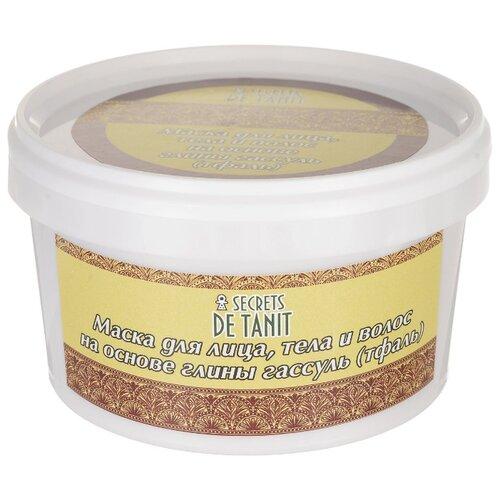 Secrets de Tanit Маска для волос и тела на глине гассуль 300 г les secrets de boudoir кружевная мочалка для тела dentelles de bain pomme pomme