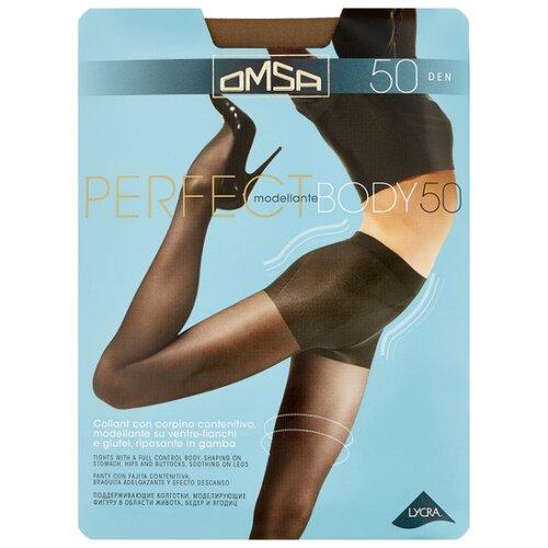 Колготки Omsa Perfect Body 50 den, размер 2-S, daino (бежевый) колготки glamour thin body 40 den размер 2 s daino бежевый
