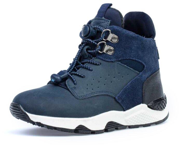 Купить Ботинки КОТОФЕЙ размер 32, синий по низкой цене с доставкой из Яндекс.Маркета
