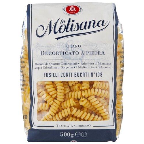 Фото - La Molisana Spa Макароны Fusilli corti bucati № 108, 500 г la molisana spa макароны spaghettoni 14 500 г