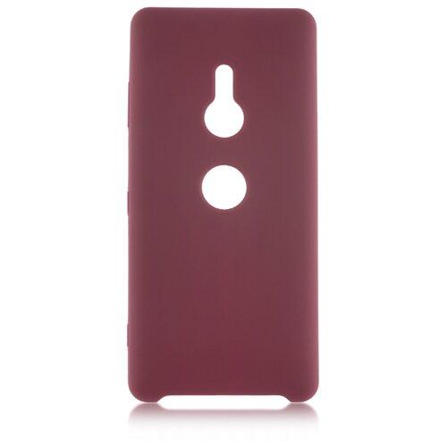 Чехол Rosco XZ3-SOFTRUBBER для Sony Xperia XZ3 винный