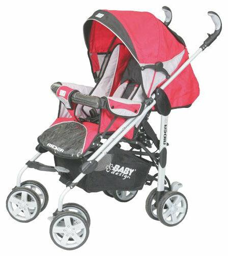 Прогулочная коляска Baby Design Rider