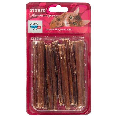Лакомство для кошек Titbit Кишки говяжьи Б2-S, 24г
