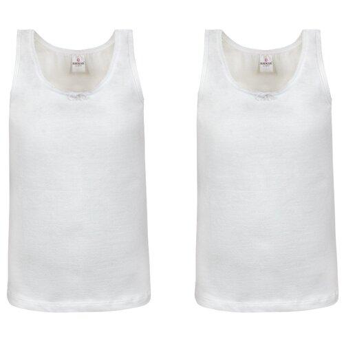 Купить Майка BAYKAR 2 шт., размер 98/104, белый, Белье и купальники