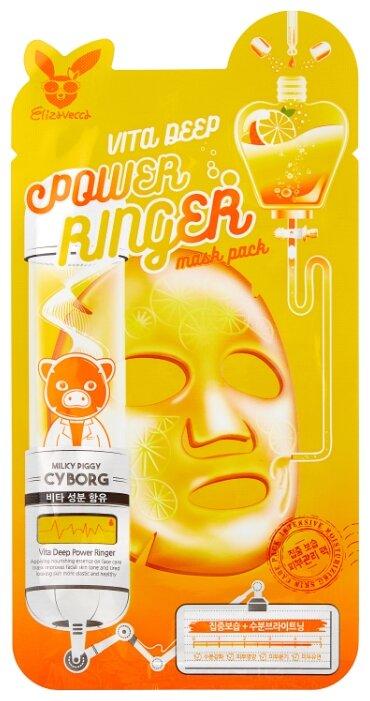 Elizavecca Тканевая маска Vita Deep Power Ringer Mask Pack
